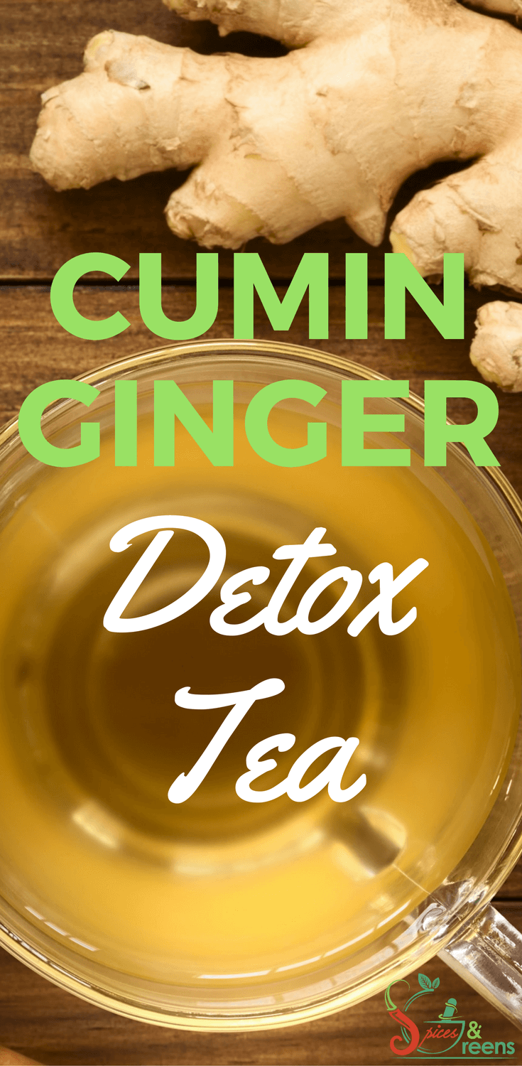 Cumin Ginger Tea Spices Greens