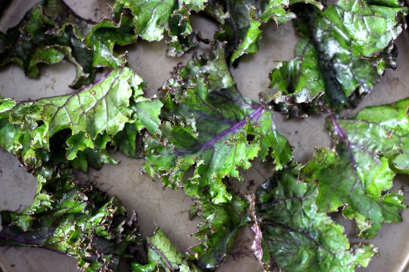 Cumin Chili Lime Kale Chips